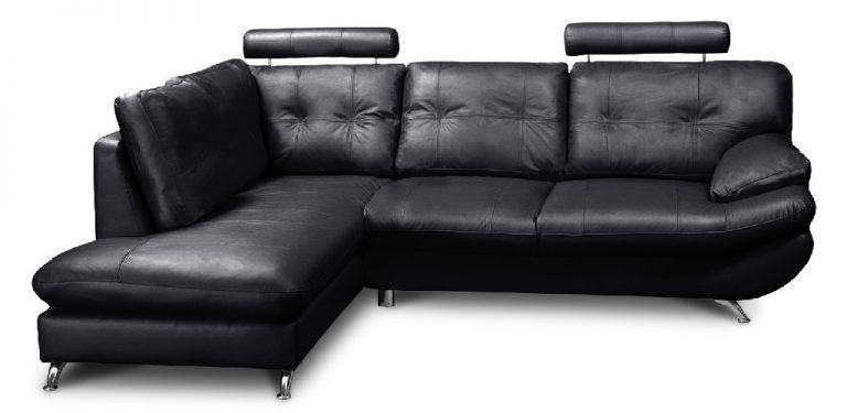 Sandy Leather Corner Sofa