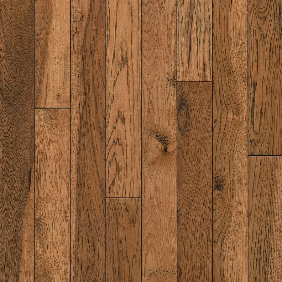Bruce America S Best Choice 3 25 In Honey Grove Hickory Solid Hardwood Flooring 22 Sq Ft