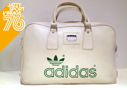 3932530f89ef Vintage 1970s Adidas Peter Black Northern Soul Holdall Weekend Sports  Tennis Bag