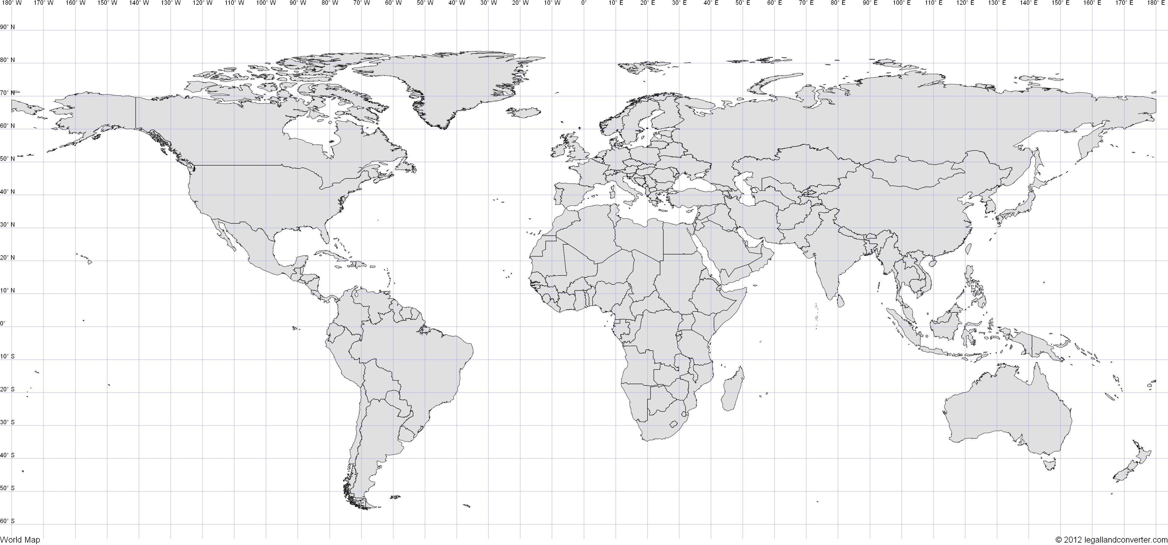 World Map With Latitude And Longitude Pdf World Map Latitude Longitude Pdf Best And The Within Of With