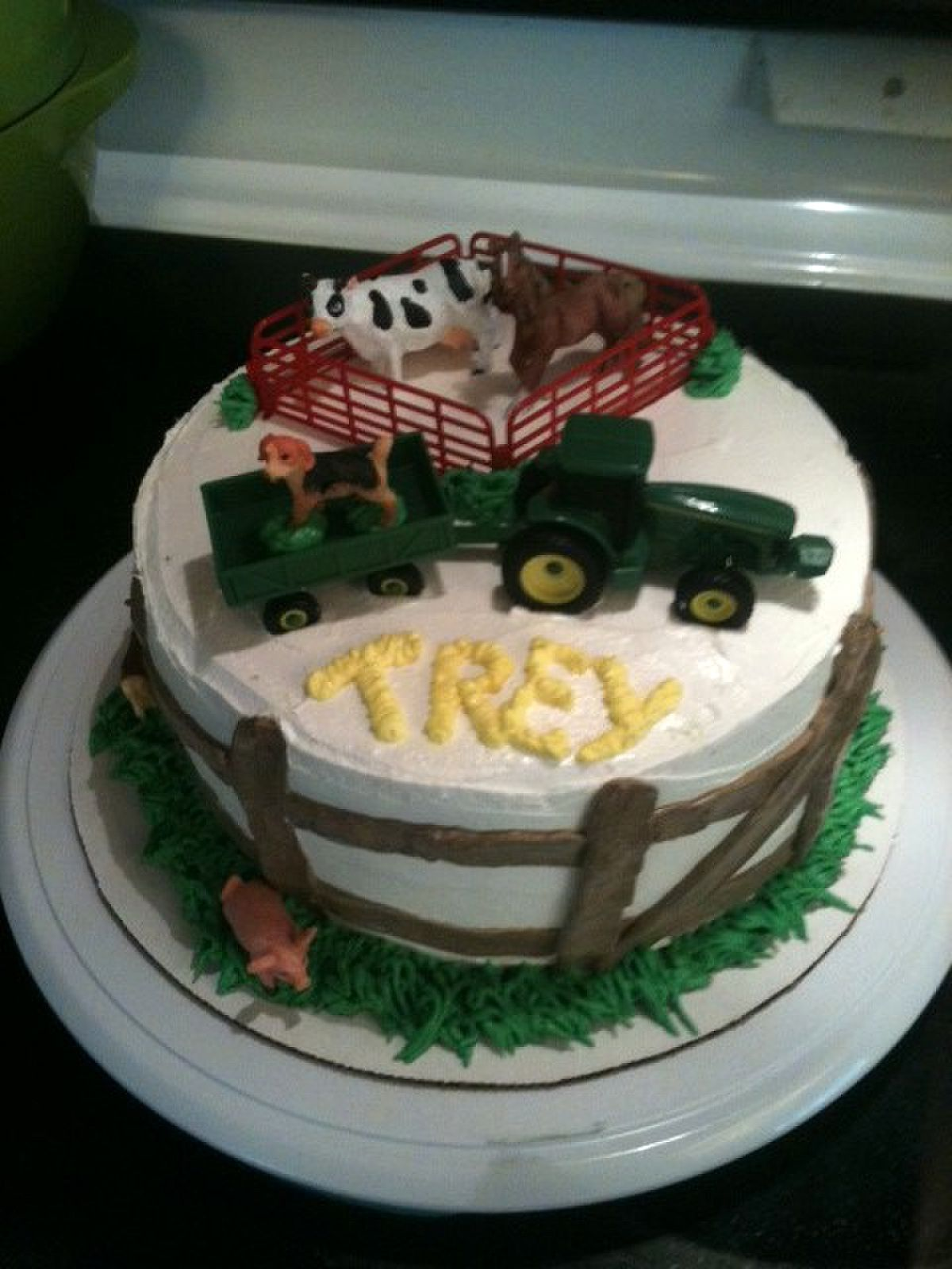Farmer boy birthday cake!
