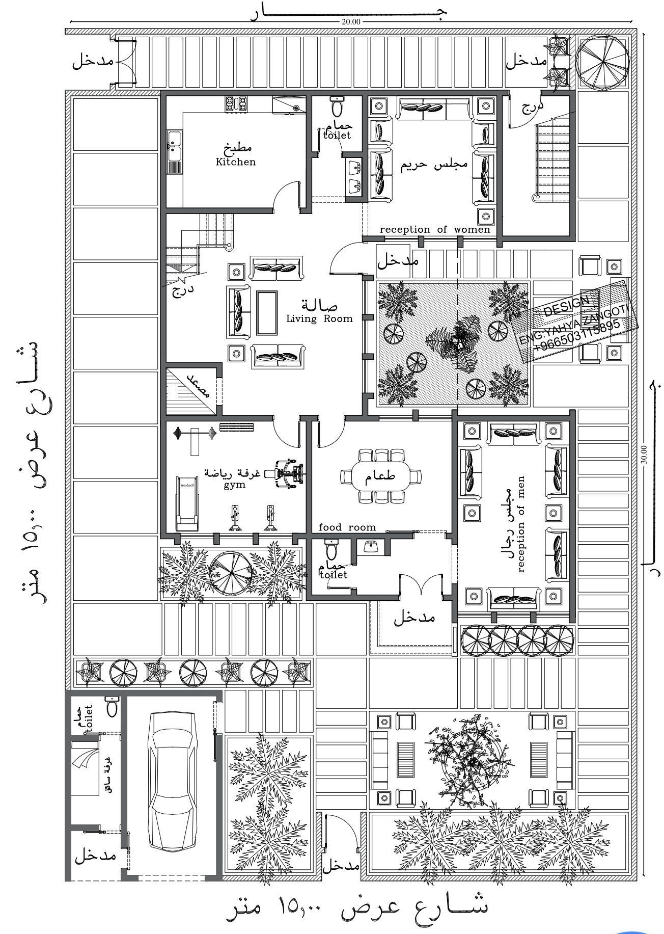 م يحيى زنقوطي Zingoty5 Twitter Model House Plan 2bhk