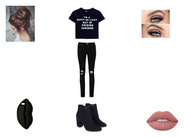 """""""~ Oc Set ~"""" by jayy-bear-83 ❤ liked on Polyvore featuring Boohoo, Monsoon, Lime Crime and STELLA McCARTNEY"""