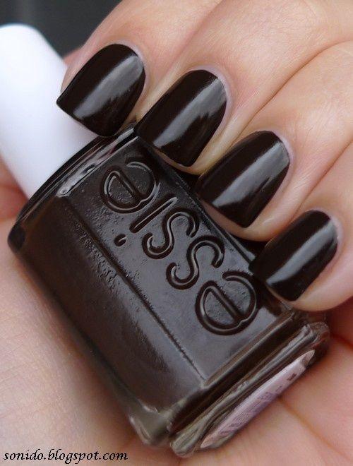 Essie Little Brown Dress Dark Autumn Nail Polish