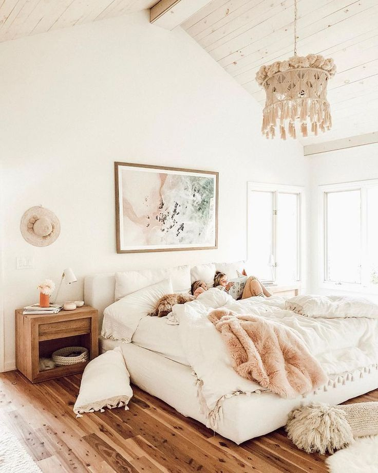 20+ Fabulous White Master Bedroom Ideas That Match For Any Home Design - TRENDUHOME#bedroom #design #fabulous #home #ideas #master #match #trenduhome #white