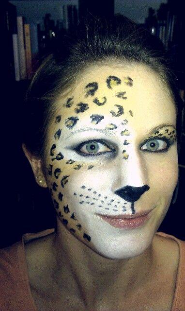 Leopard Schminke