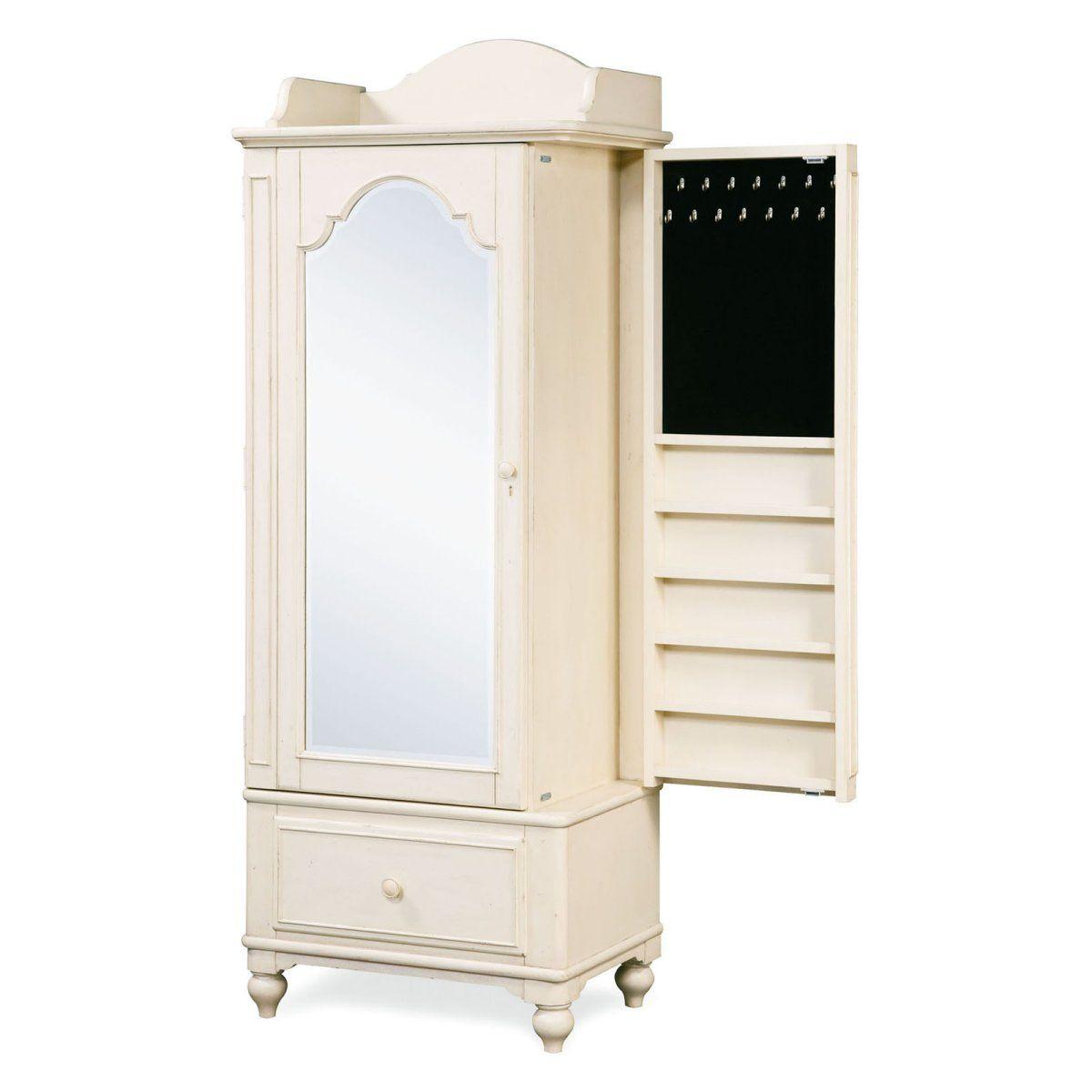 Paula Dean Gals Dressing Mirror Armoire   Kids Furniture At Hayneedle