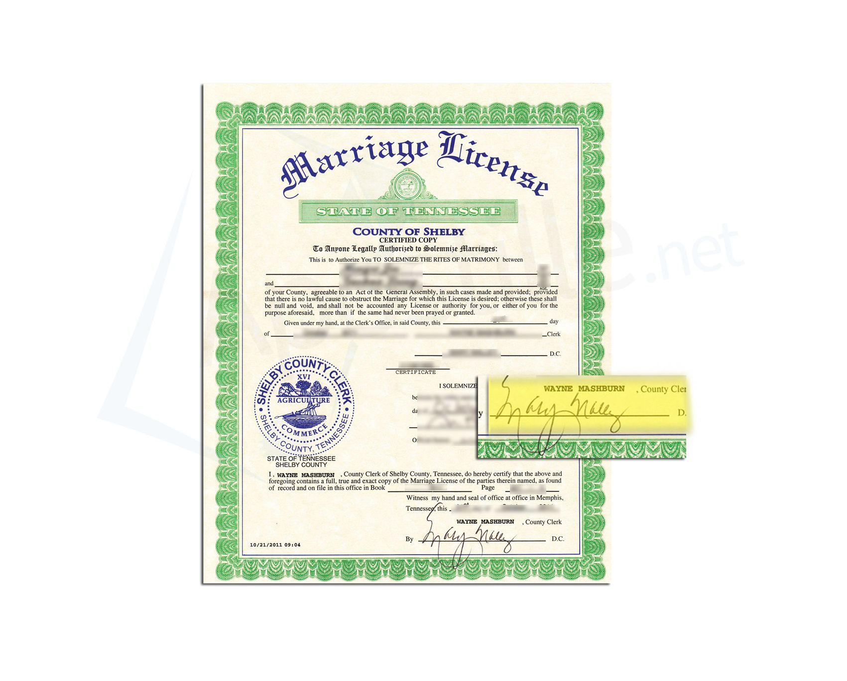 Free online marriage license lookup