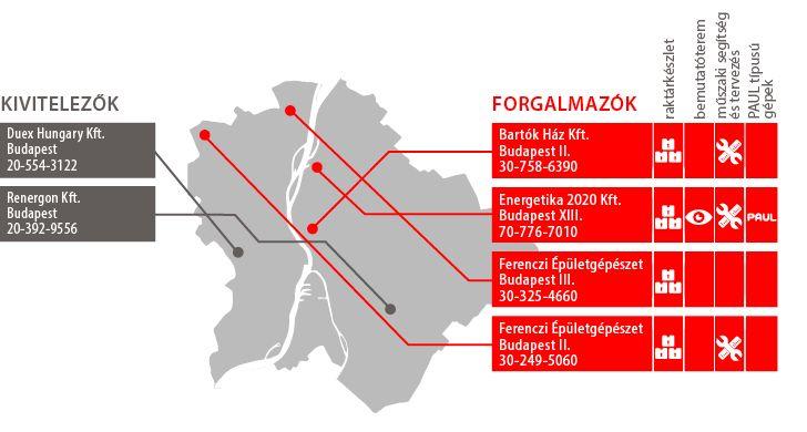 Magyarország Budapest Térkép