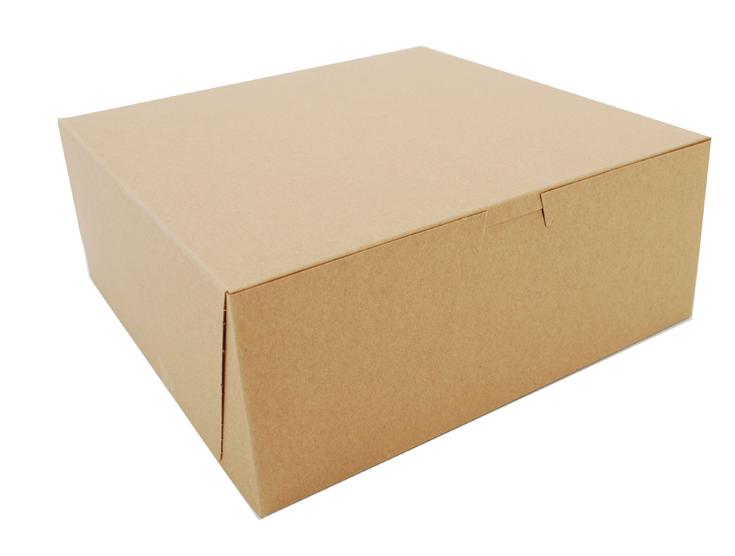 Amazon Com Southern Champion Tray 0973k Kraft Paperboard Non Window Lock Corner Bakery Box 10 Length X 10 Width X 4 Corner Bakery Bakery Box Window Locks