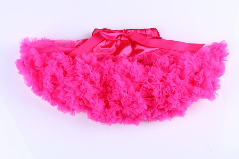 cf484b4b0 Amazon.com: PerfectDay Girl's Dress Up Fairy Princess Party Tutu Skirts  Fuschia: Clothing
