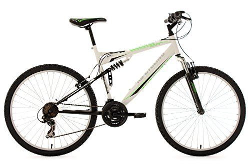 Mtb Fully 26 Paladin White Green Fh 51 Cm Ks Cycling Dual