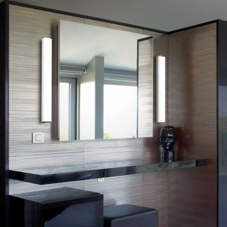 bathroom mirror with vertical side lights | mirror, mirror on the