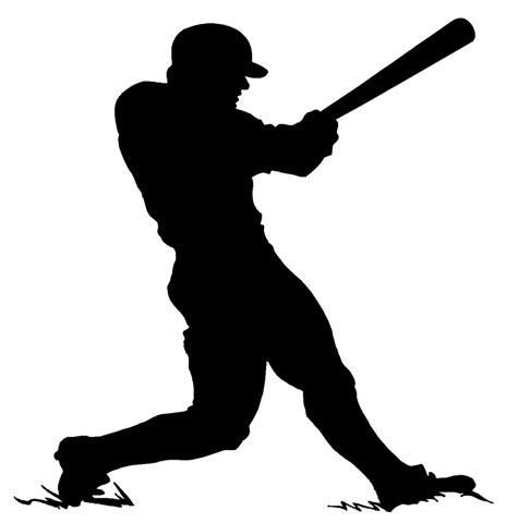 baseball batter stencil 10 mil reusable patterns baseball rh pinterest com butter clip art battery clip art images