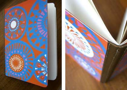 paper journals from cereal boxes