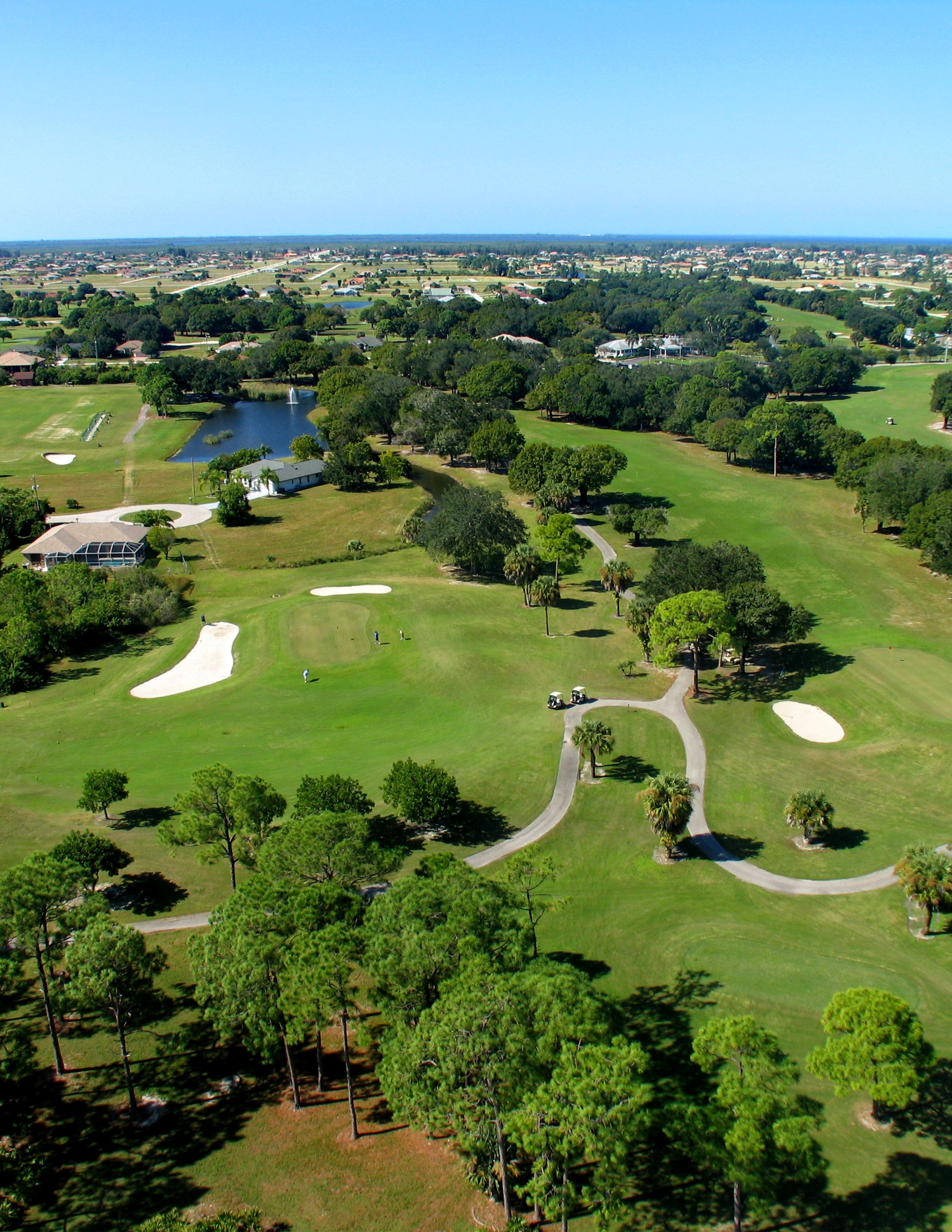 Play A Round When You Go To Coral Oaks Florida Travel Travel Landscape