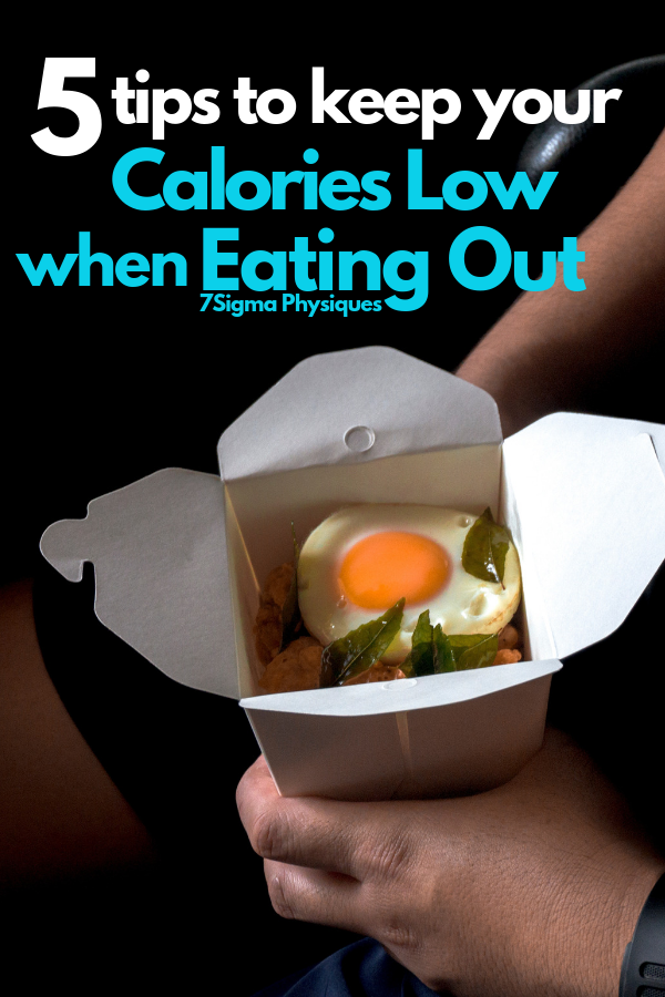 Do you want to lose weight but find yourself eating out very often? Here are 5 tips to keep your cal...