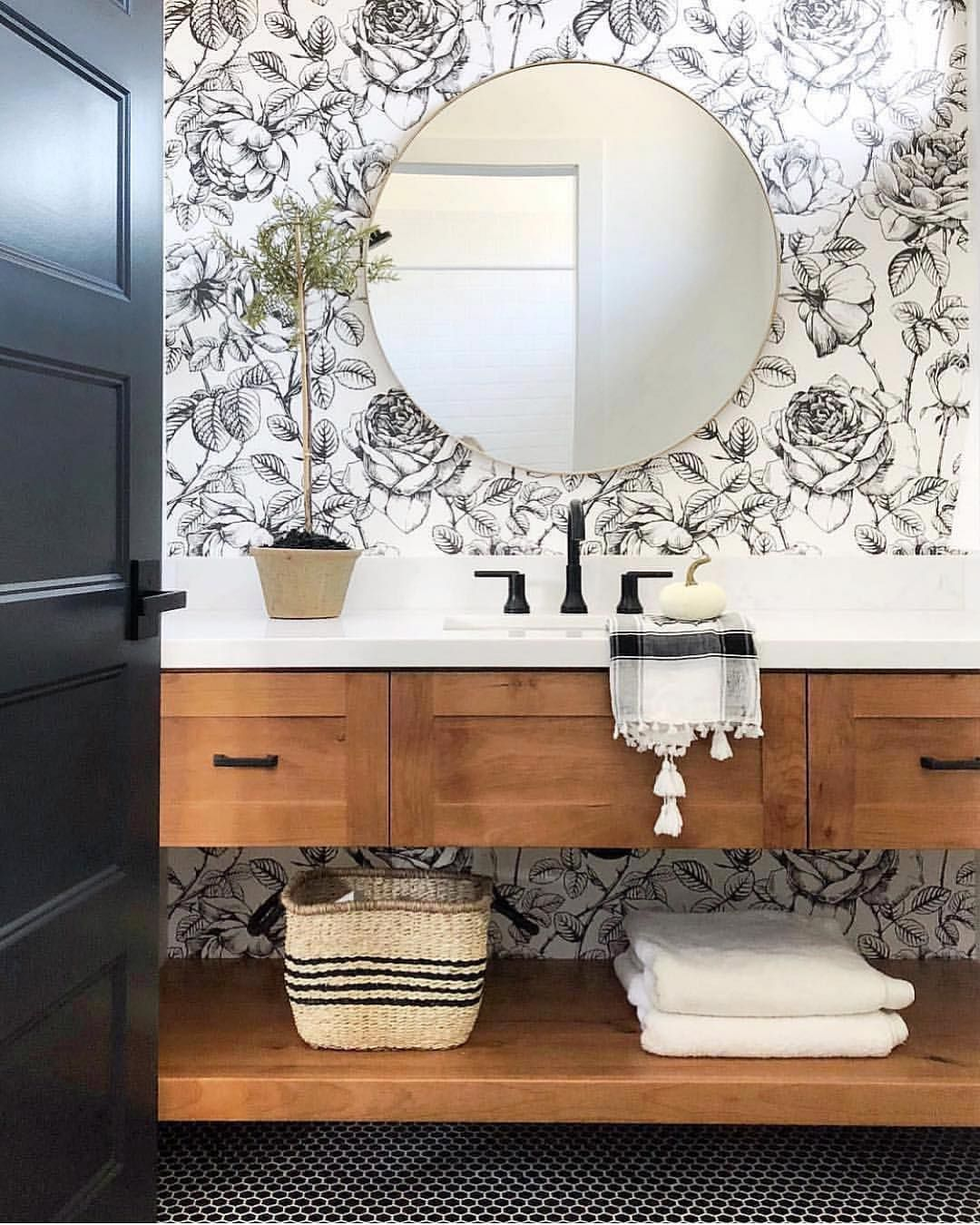 Hello And Happy Monday We Recently Finished Making Some Improvements To Our Kitchen And It Feels So Good To Be Home Decor Bathroom Inspiration Bathroom Decor