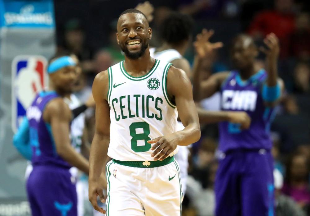Video Tribute Got Kemba Walker Choked Up But His Celtics Teammates Picked Him Up The Boston Globe Marcus Smart Jayson Tatum Celtic