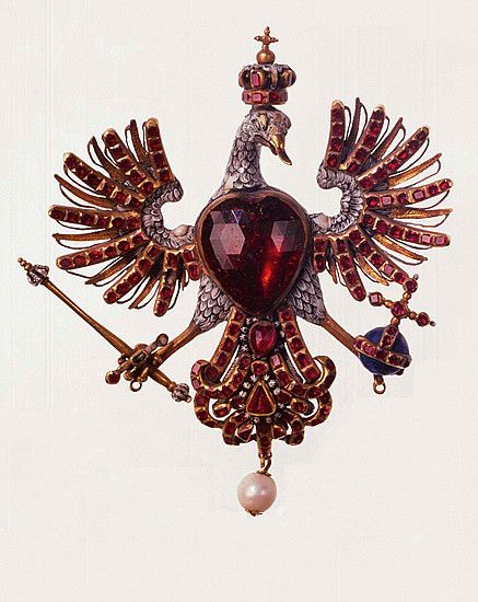 Billedresultat for louis xiv eagle brooch