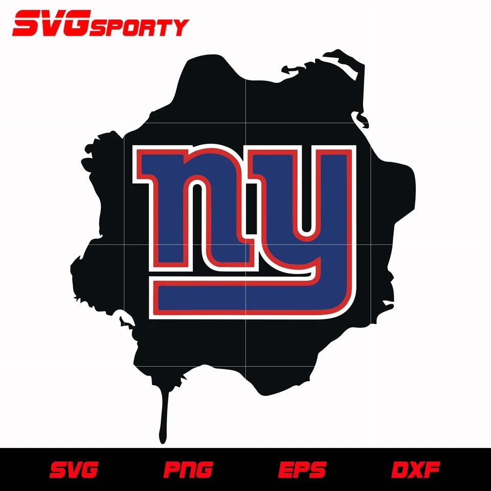 New York Giants Map Logo svg, nfl svg, eps, dxf, png