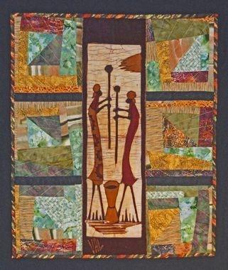 AFRICAN QUILT - Ruth Anne Yax | Quilt Ethnic ☽๑◯☾☽◯๑☾ | Pinterest