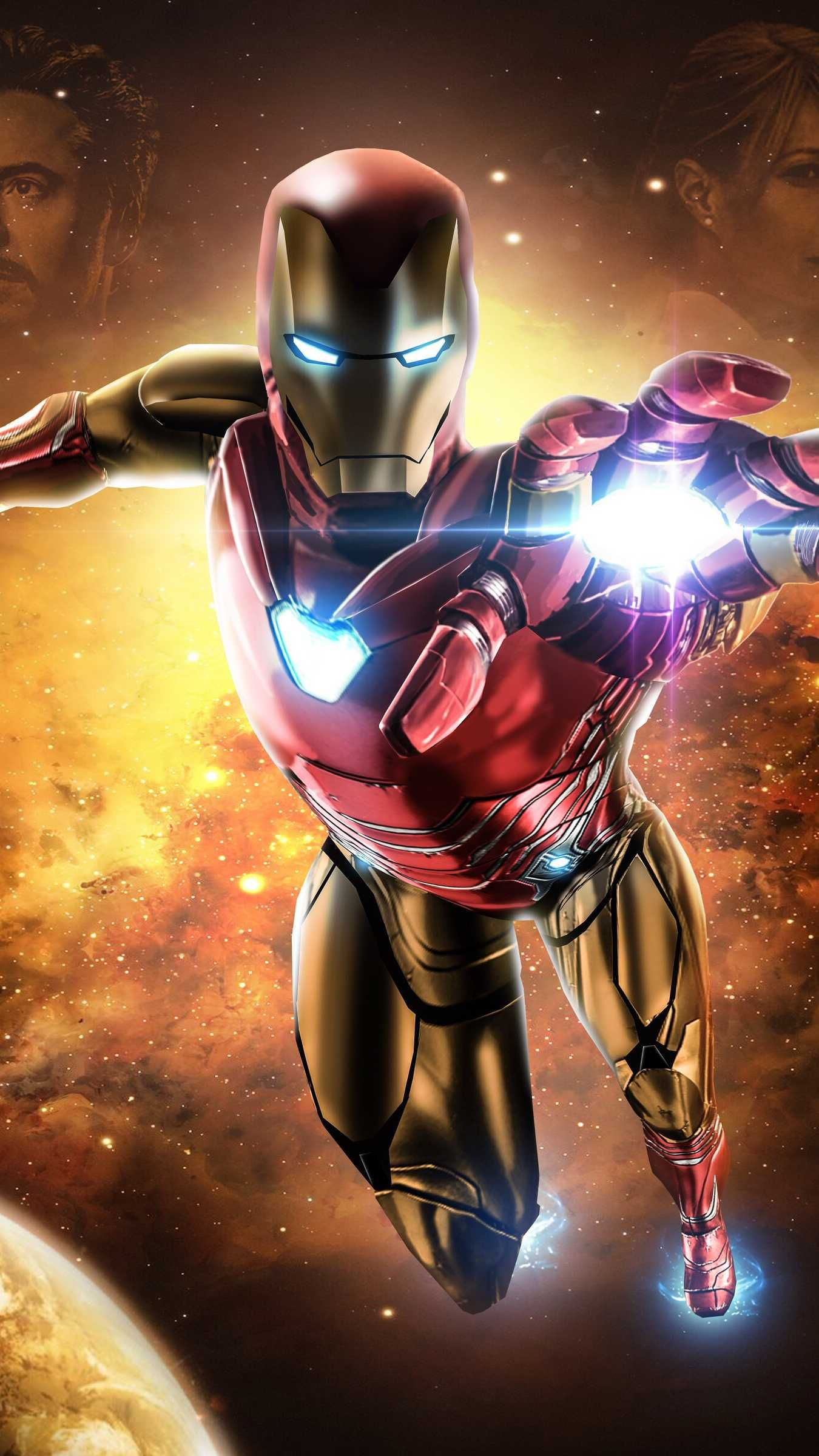Avengers Endgame Iron Man Mark 85 Armor Space Iphone Wallpaper Iron Man Wallpaper Iron Man Art Iron Man