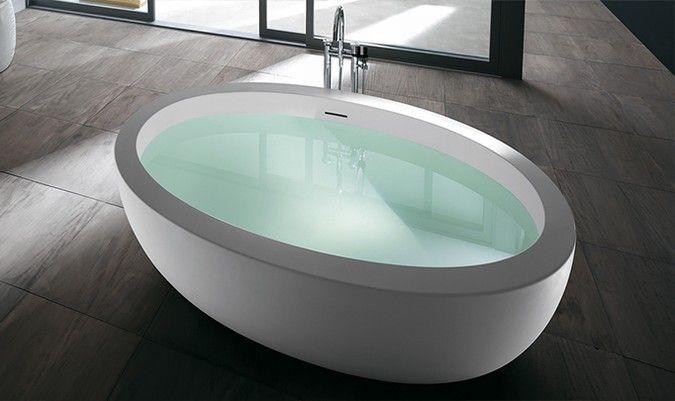 Teuco - Feel bathtub Designed by Giovanna Talocci #bathroomdesign ...