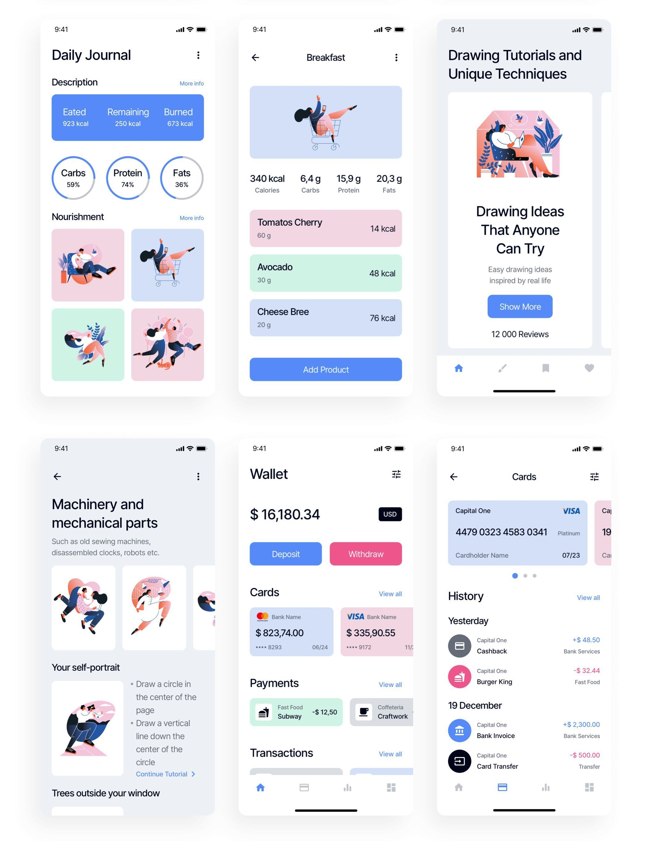 Spot iOS UI Kit #uikit #uidesign