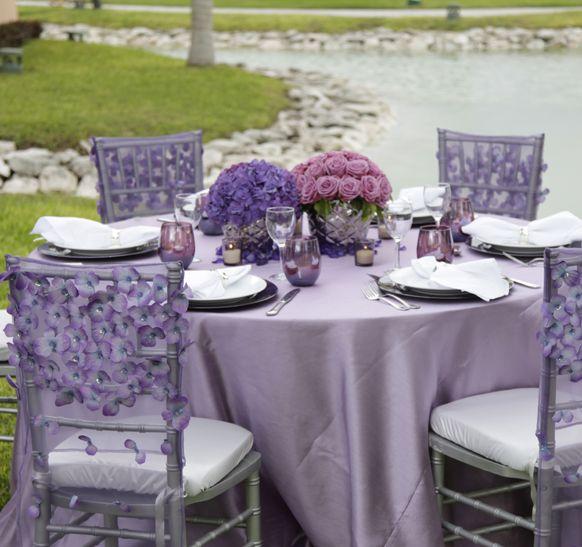 Destination Wedding Reception Ideas: 2014 Silver Lavender Cancun All Inclusive Destination
