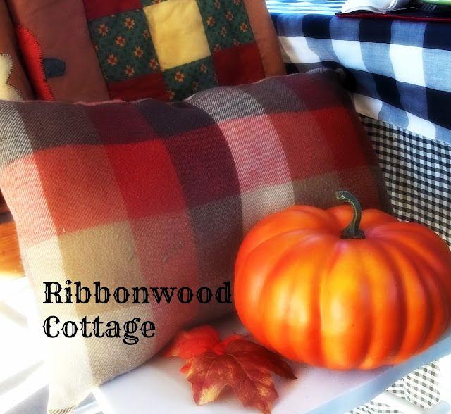 Flannel, plaid, pumpkins for fall...