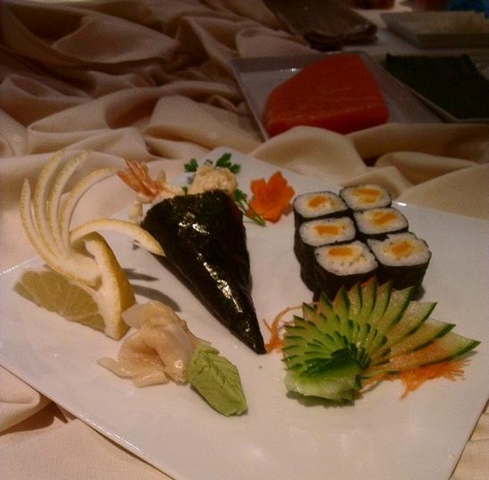 toetje na sushi