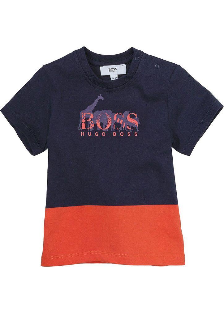 bec0b14f HUGO BOSS Baby Boy Cotton T shirt J05368 Dark Blue Orange Size 6M-3T  Genuine   Clothing, Shoes & Accessories, Baby & Toddler Clothing, Boys'  Clothing ...