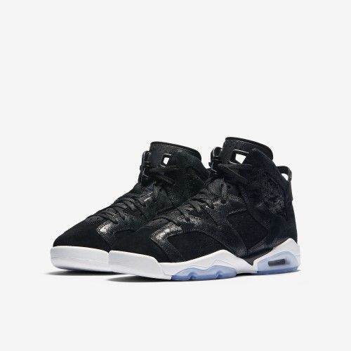 wholesale dealer 04816 832c1 Nike Jordan Kids Air Jordan 6 Retro Prem HC GG Black Black White Gym Red Basketball  Shoe 5.5 Kids US, Size  5.5Y