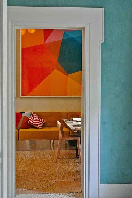 h tel du clo tre arles by india mahdavi slavia vintage. Black Bedroom Furniture Sets. Home Design Ideas