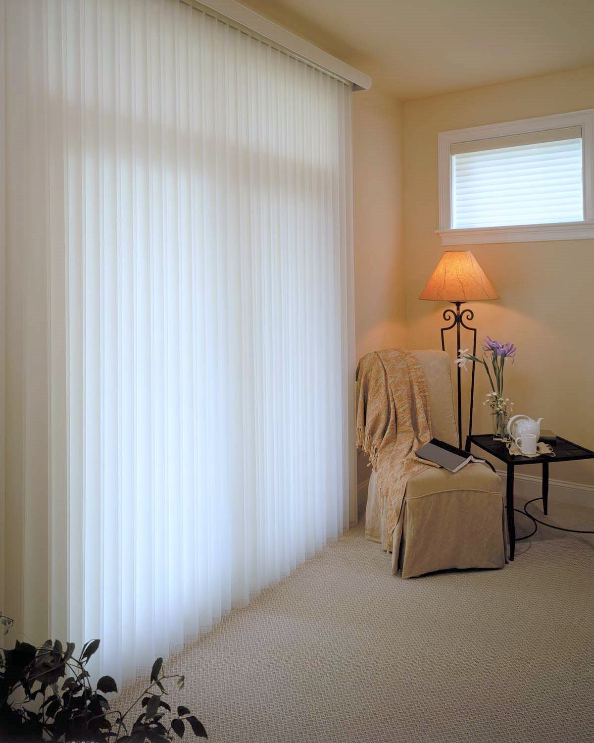 5 Curtain Ideas For Bay Windows Curtains Up Blog: The Best Vertical Blinds Alternatives For Sliding Glass