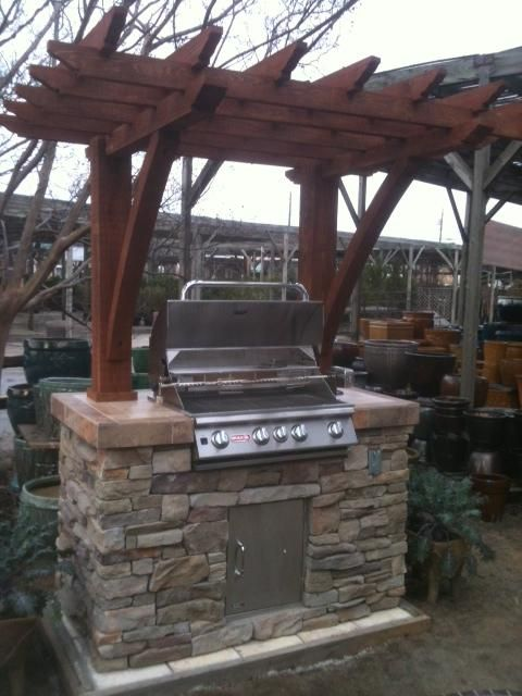 Grill Island Pergola Outdoor Grill Station Outdoor Grill Island Pergola