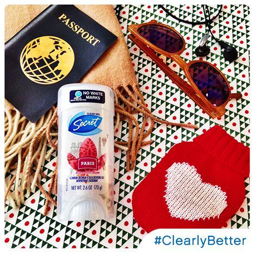 #ClearlyBetter @SecretDeodorant