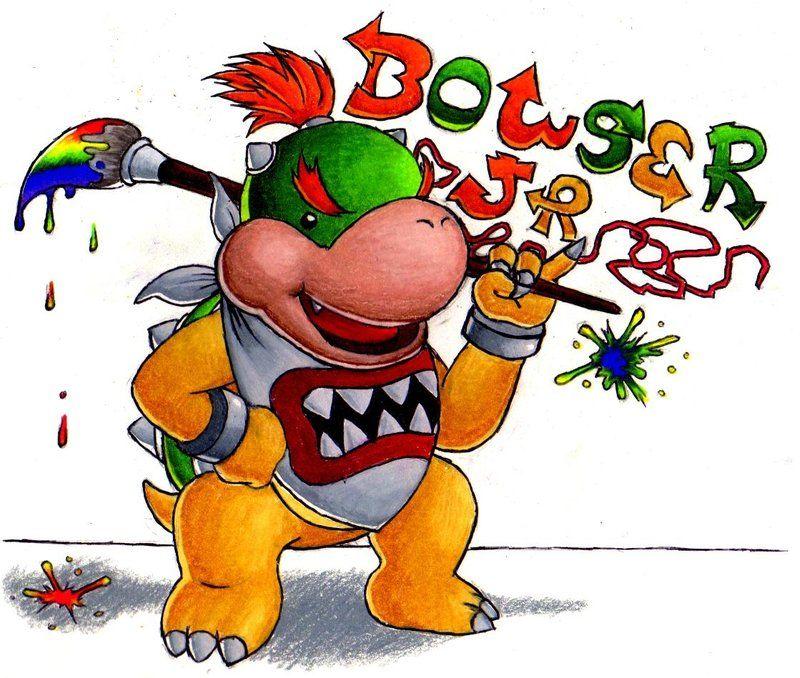 Bowser Jr By Froggymudd On Deviantart Bowser Cute Cartoon Wallpapers Marvel Cartoon Movies