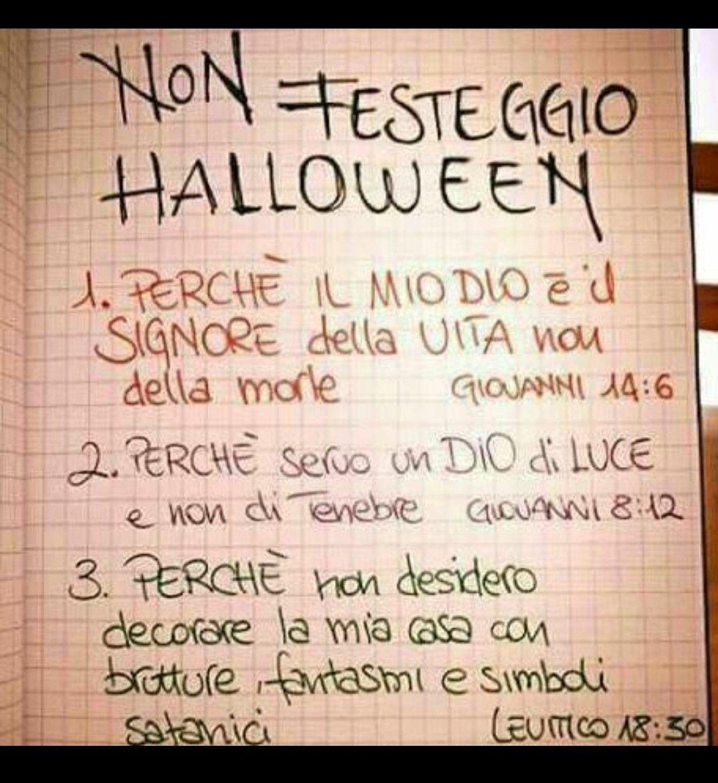 Non Festeggio Halloween.Pin Di Bruna Ballesio Su Dio Fonte Di Vita Pinterest God Im