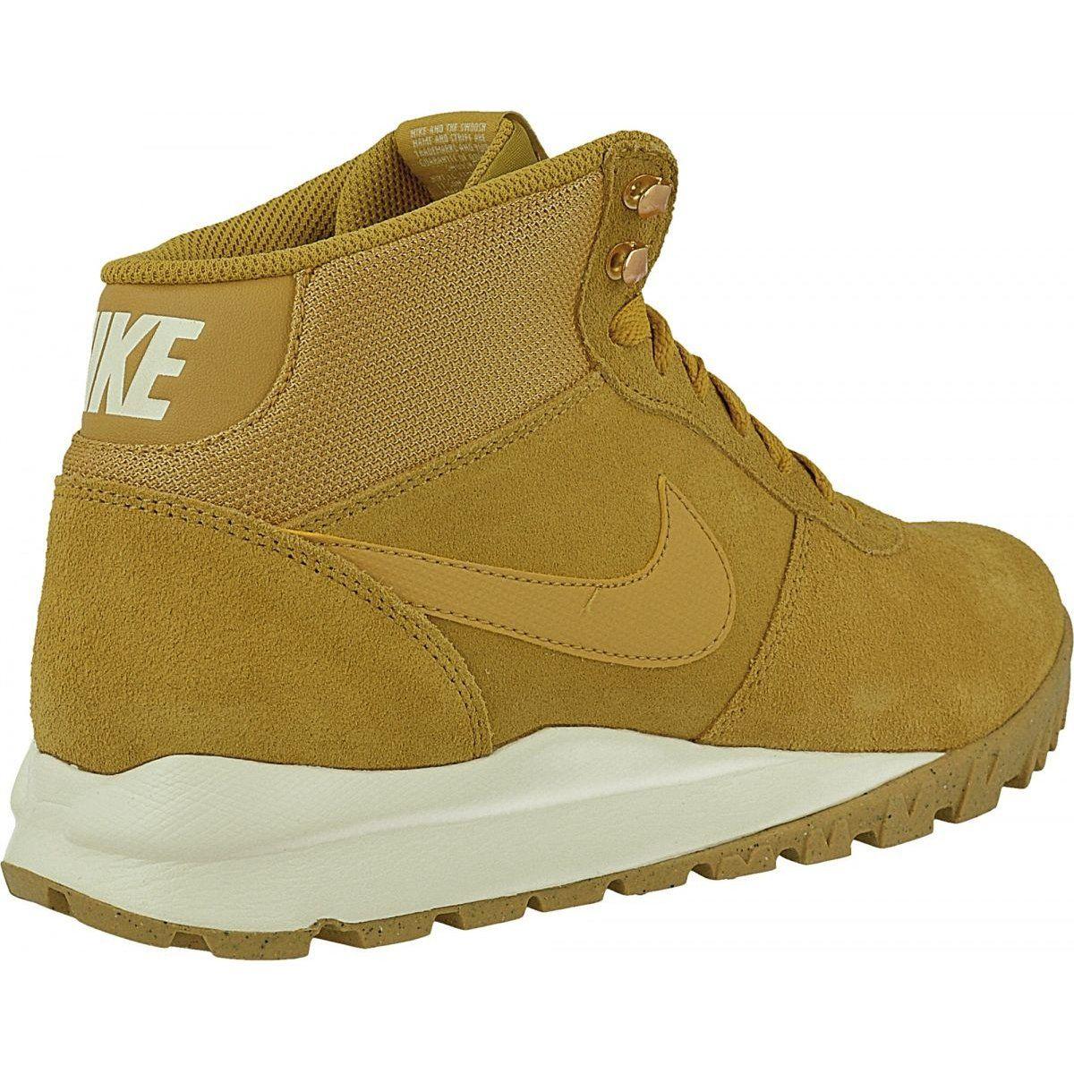 Buty Zimowe Nike Hoodland Suede M 654888 727 Brazowe Wielokolorowe Winter Boots Mens Nike Shoes Nike Shoes