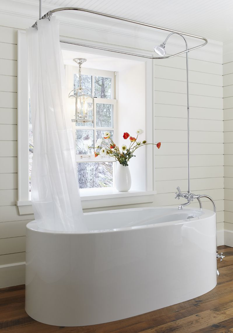 Now All I Want Is A Bath Simple Bathroom Renovation Tub Shower
