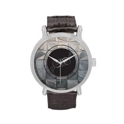 Grey Pinwheel watch