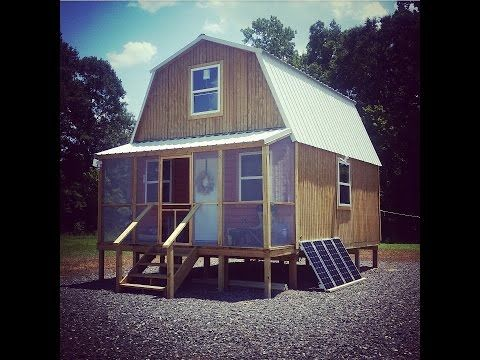 Off Grid Solar Cabin Tour Youtube Pinned Jan 2019 Liking His