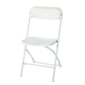 White Samsonite W White Frame Folding Chair Chair White Frame