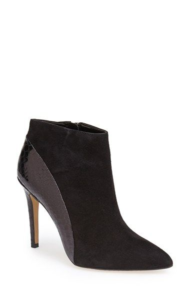 3d687171ca9 Vince Camuto  Kasi  Pointy Toe Bootie (Nordstrom Exclusive) (Women)  available at  Nordstrom  These to me look very similar to the dressy riding  boots.