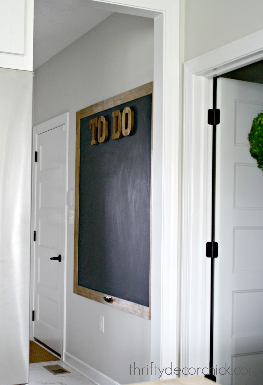 Huge Diy Chalkboard How To Interior Doors For Sale Interior Design Classes House Paint Interior