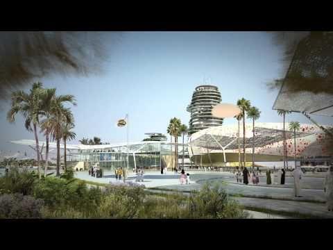Club Real Madrid presenta il progetto negli Emirati Arabi Uniti: Real Madrid Resort Island apertura nel 2015