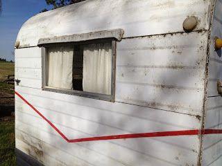 Painting A Trailer What I Ve Learned So Far Vintage Camper Remodel Vintage Trailers Restoration Vintage Travel Trailers