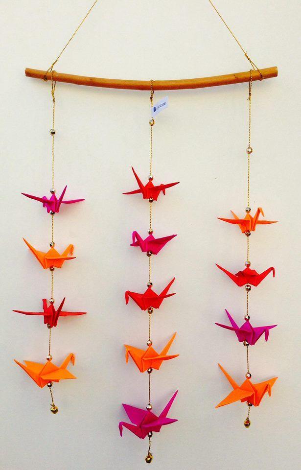 Origami Birds Paper El Quilling Handicraft Ideas Baby Mobiles Diy Scrapbook Du Ciel